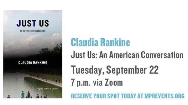 Talking Volumes announcement Claudia Rankine