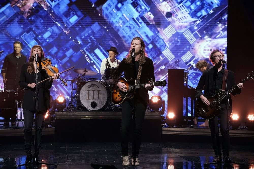 The Lumineers perform on The Tonight Show Starring Jimmy Fallon