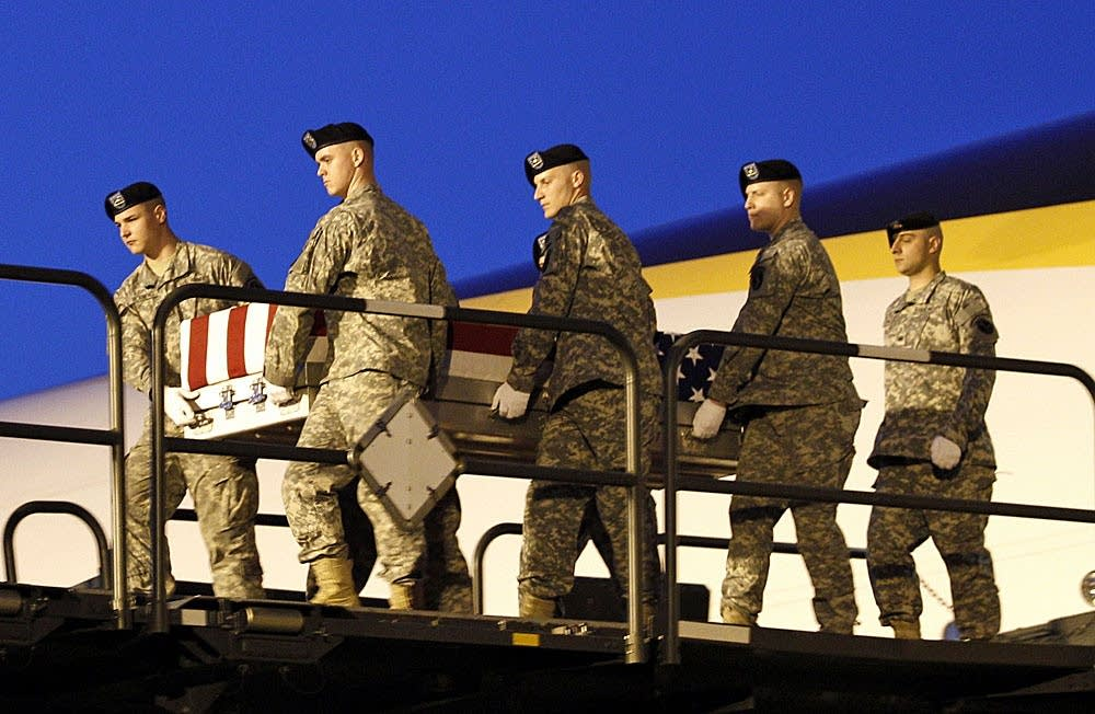 Kruize's remains are brought home