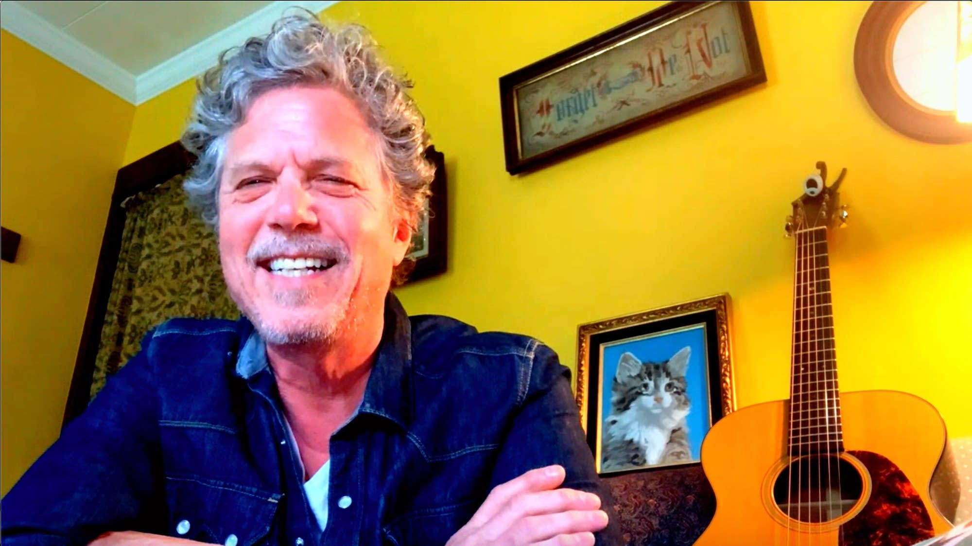 Gary Louris is interviewed by The Current's Jim McGuinn