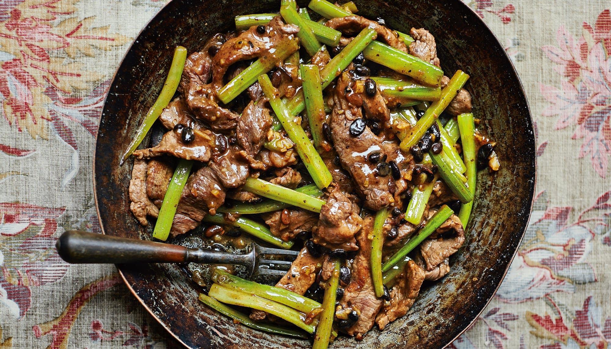 Stir-Fried Beef and Celery (Daging Lembu Dan Saderi) | The Splendid Table