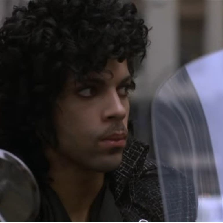 Prince during