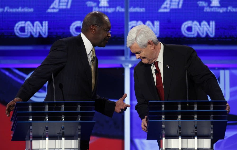 Herman Cain, Newt Gingrich