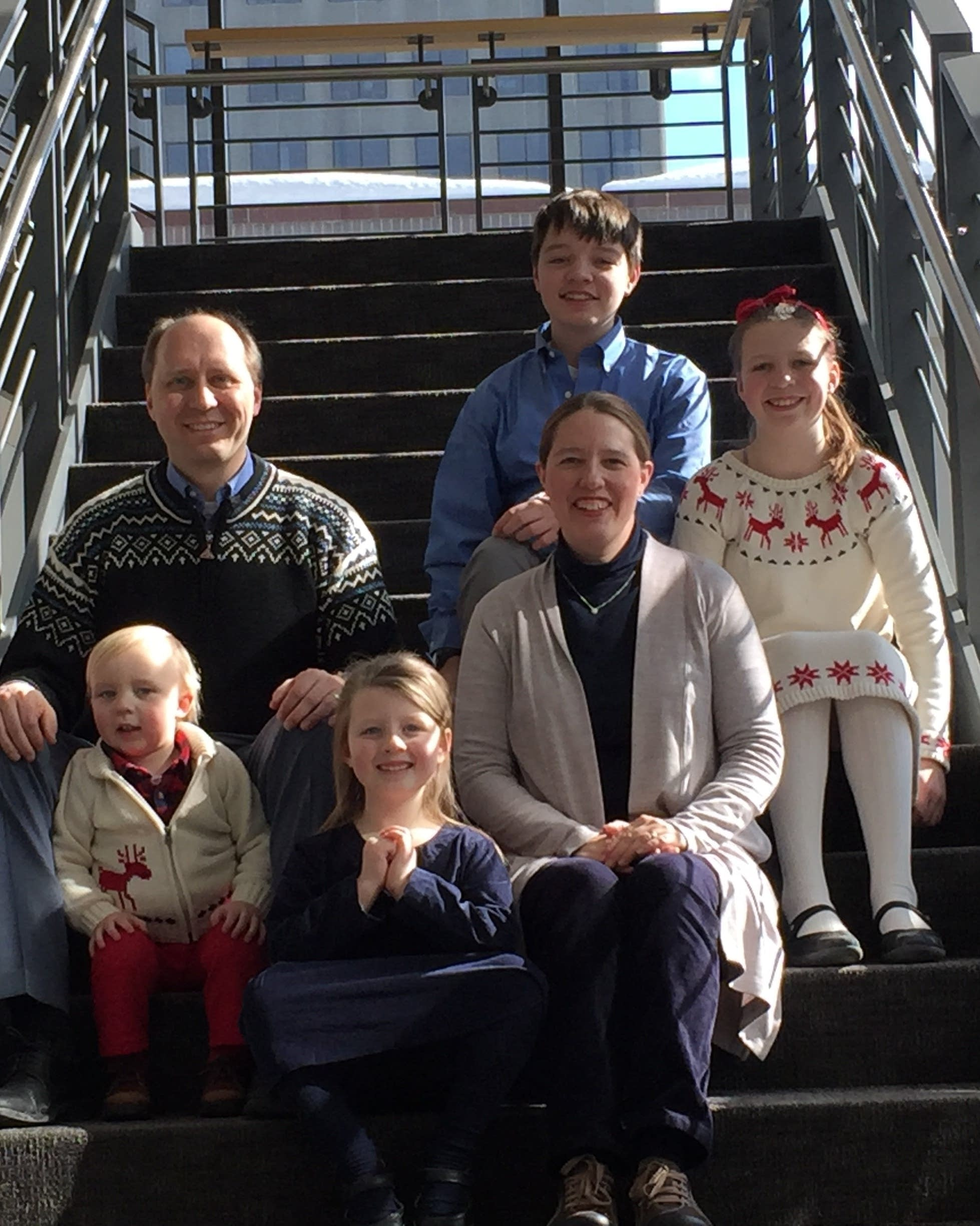 The Monsen Family at MPR