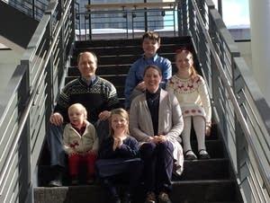 The Monsen Family at MPR