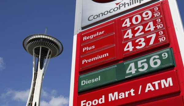 Gas Prices Seattle >> Gas Prices Mean Less Money For Summer Getaways Mpr News