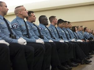 Minneapolis police academy graduation