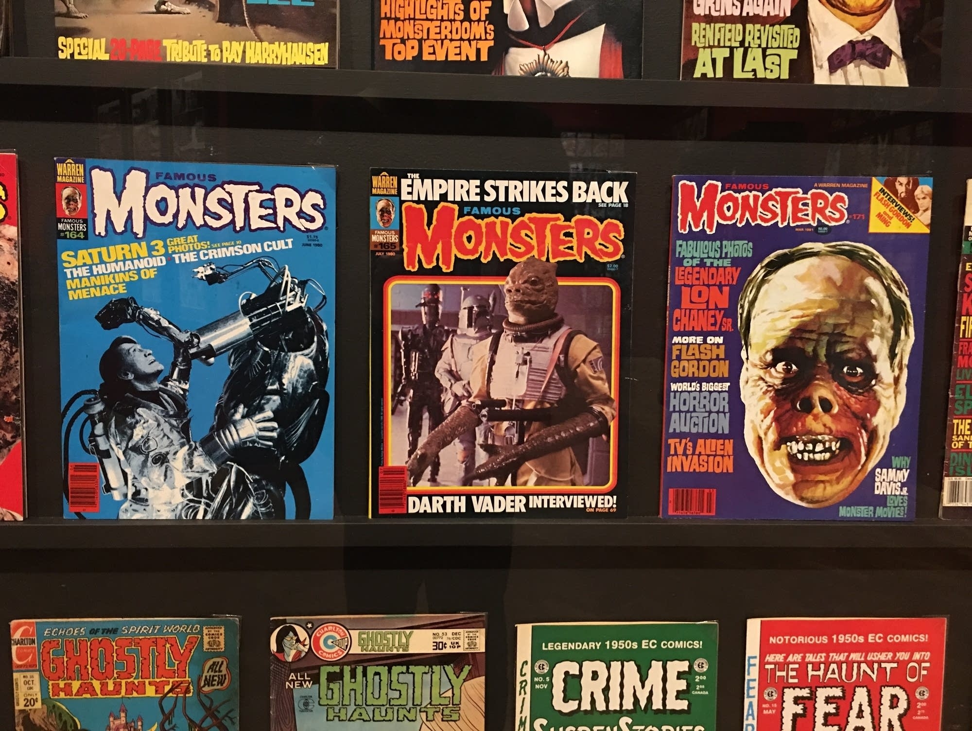 Magazines and comics from the collection of Guillermo del Toro
