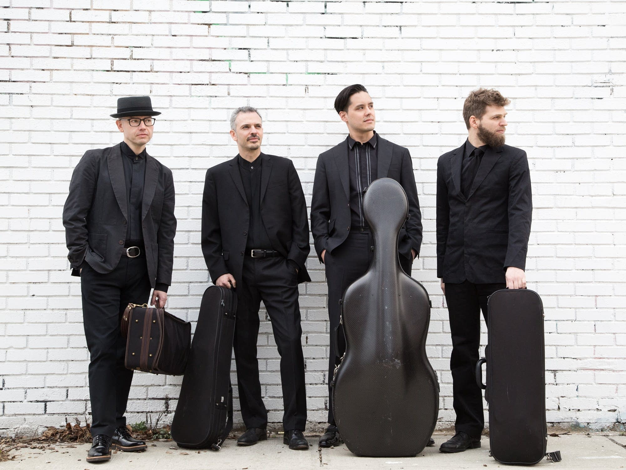 Brooklyn Rider string quartet and Ragamala Dance share the stage Friday