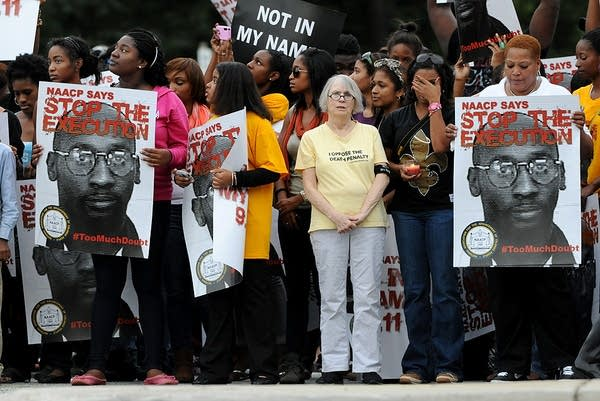 Troy Davis supporters