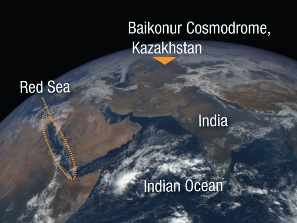 Baikonur Cosmodrome, Kazakhstan