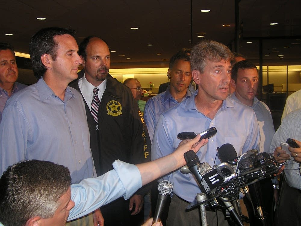Rybak at the scene