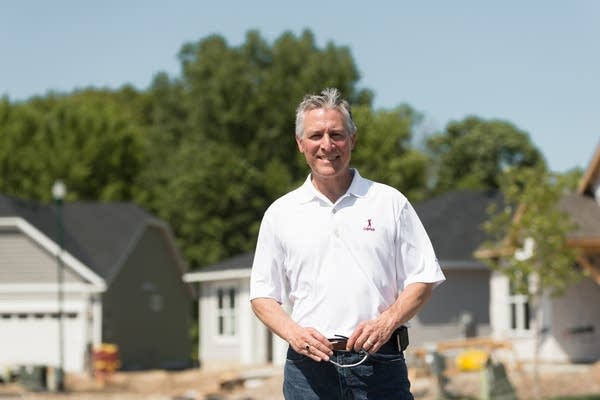 Paul Heuer, the director of land planning and entitlement at Pulte Homes