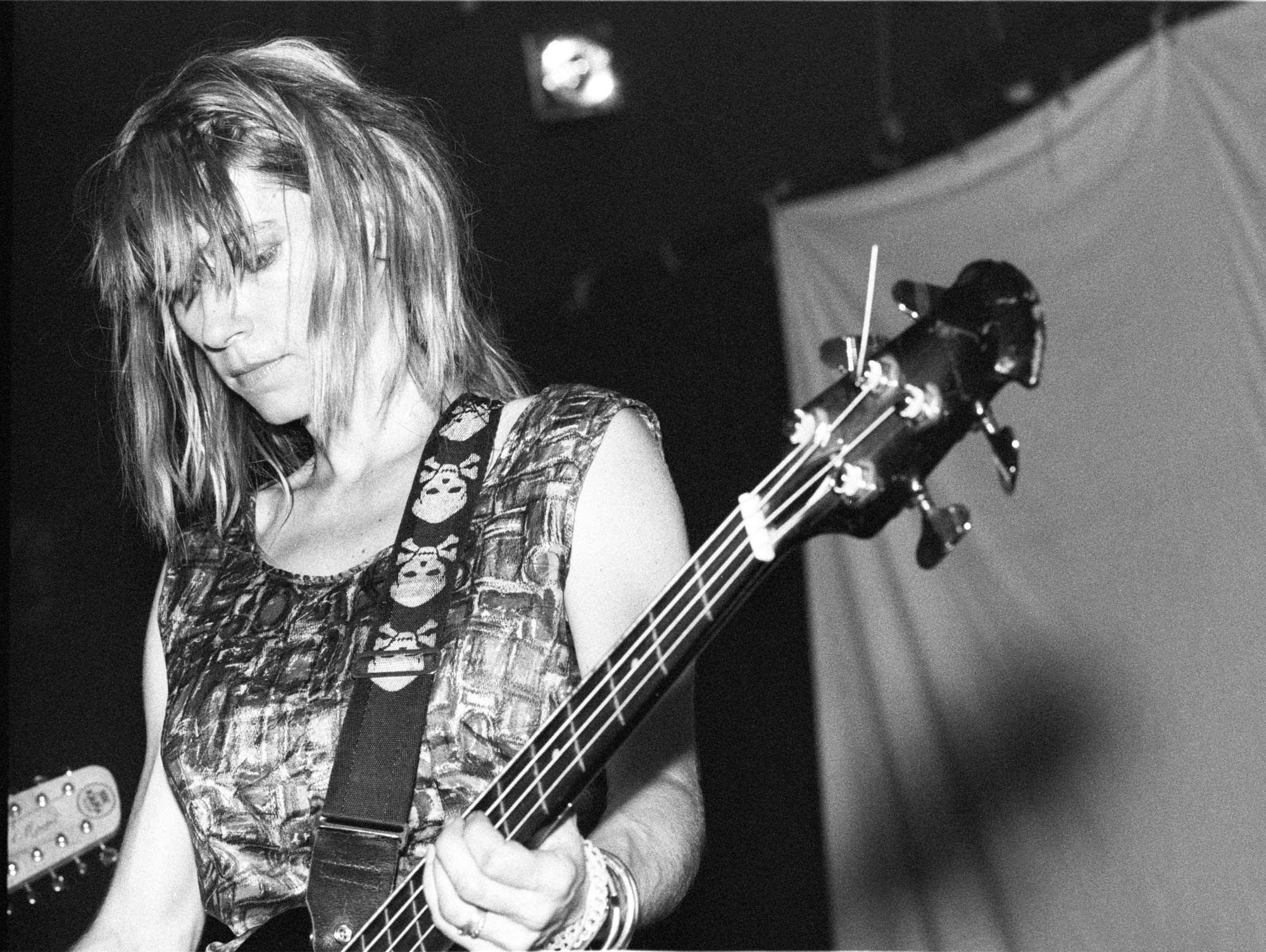 Kim Gordon of Sonic Youth, July 15, 1986