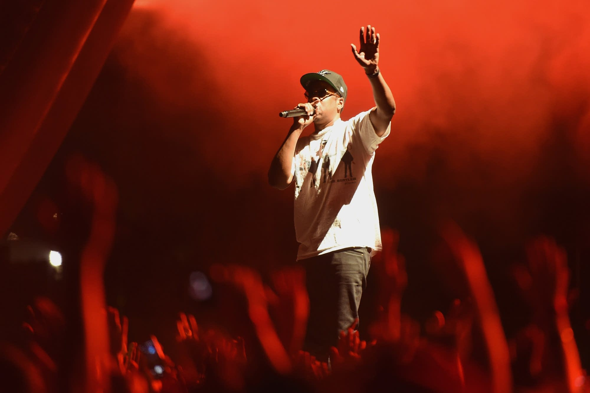 Jay-Z performs at the Meadows Music And Arts Festival in New York