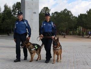 Madrid Police Dogs