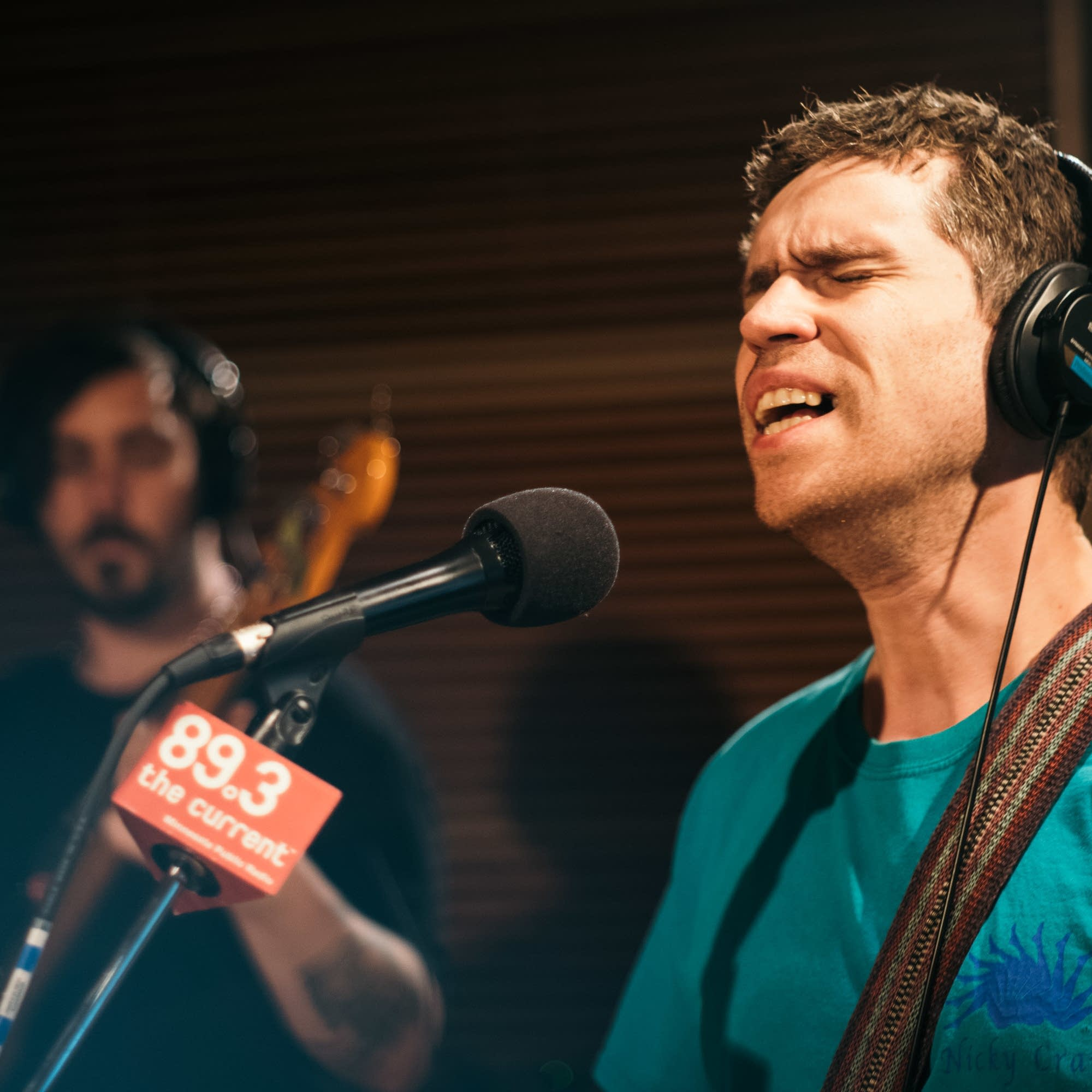 Parquet Courts perform in The Current studio