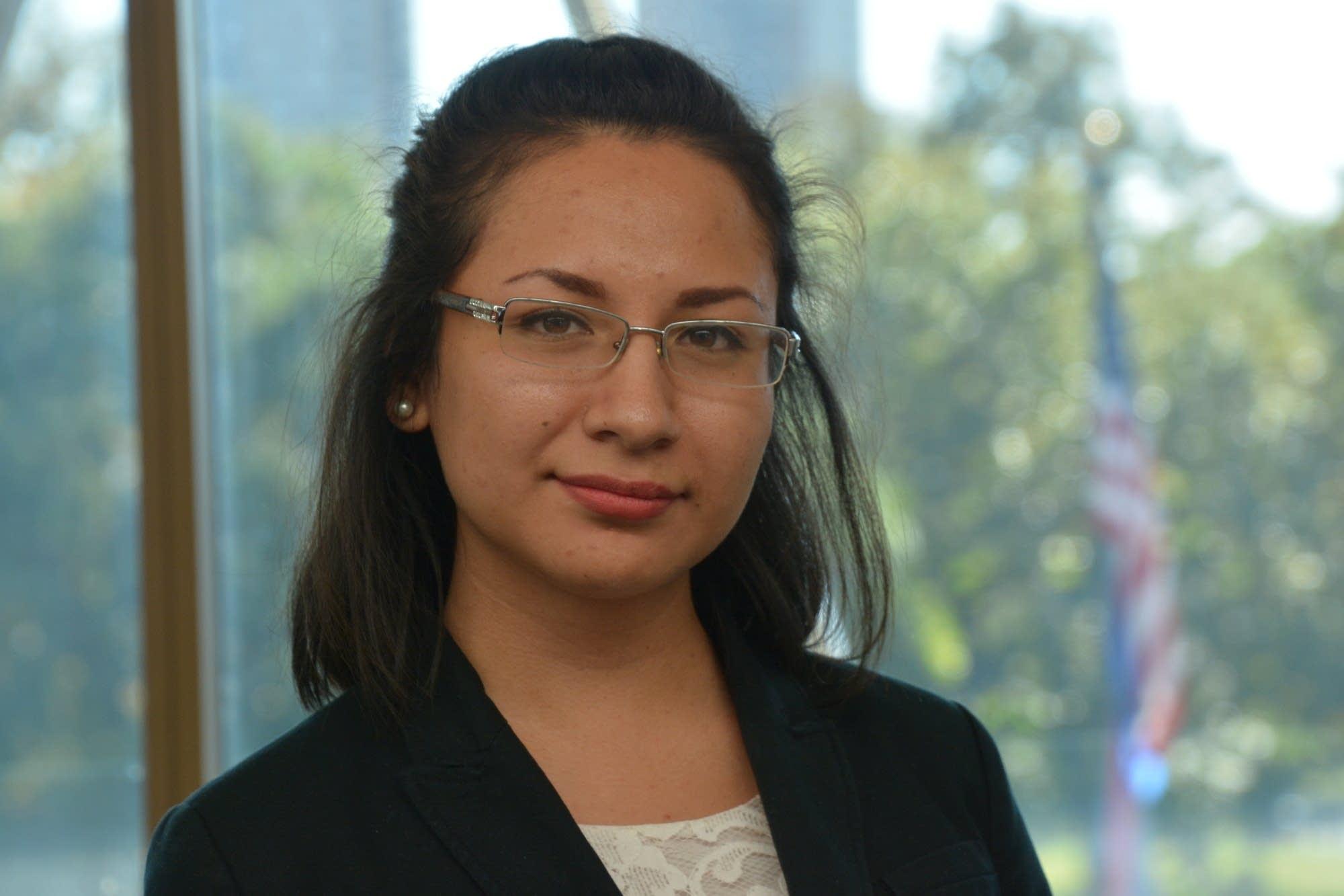 Estefania Navarro, 22, MCTC Student.
