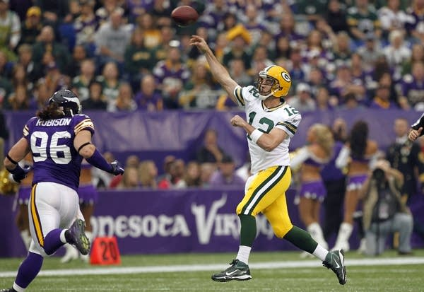 Image result for packers vikings 2011