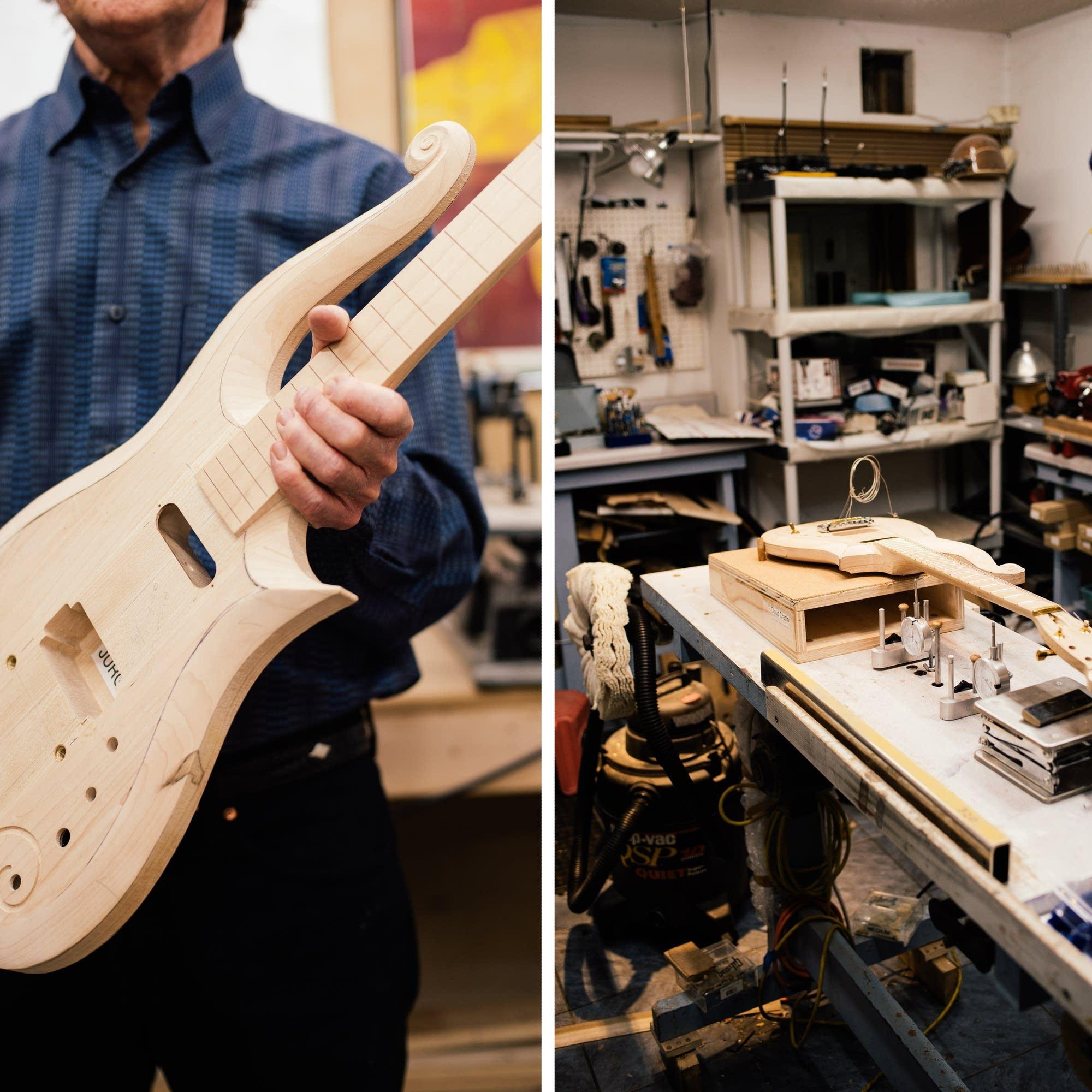 Meet Dave Rusan, builder of Prince's Cloud Guitar