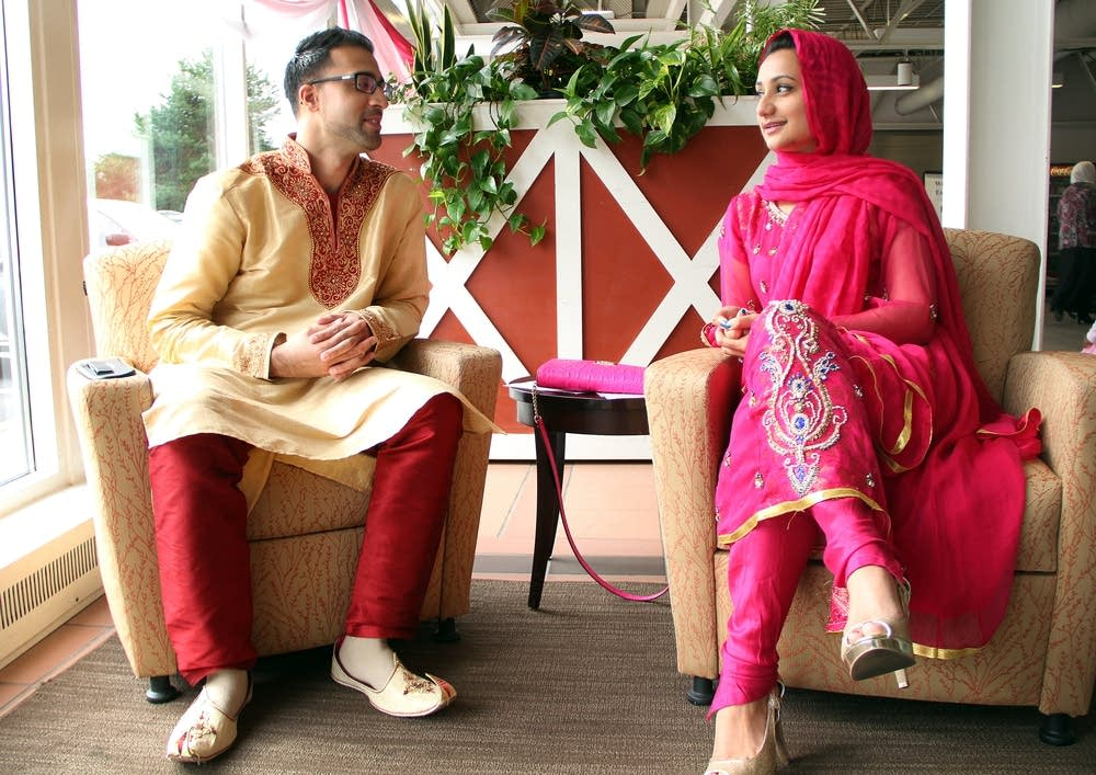 Sulmaan Khan and his wife, Michelle Masood