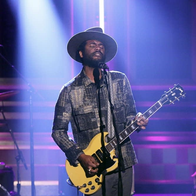 Gary Clark Jr. performs on 'The Tonight Show Starring Jimmy Fallon'