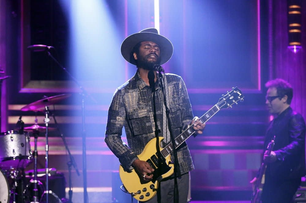 Gary Clark Jr. performs on 'The Tonight Show Starring Jimmy Fallon'