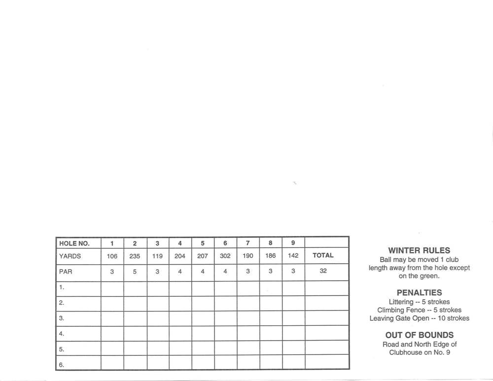 Scorecard pt. 2