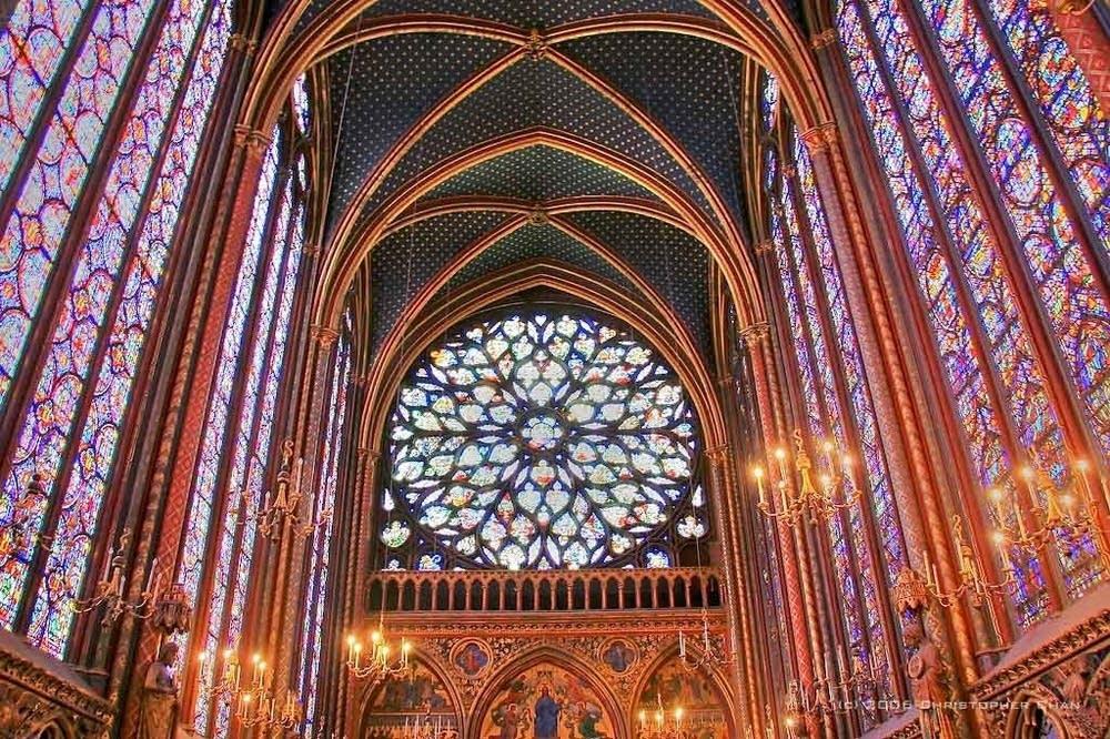 Sainte-Chapelle Upper Chapel