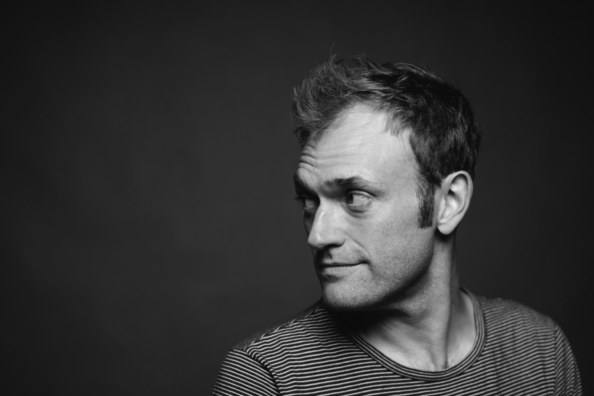 Chris Thile portraits at The Current, 2018