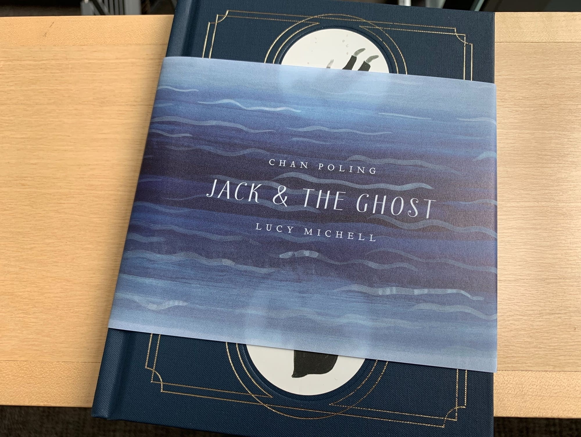 'Jack & the Ghost,' a book by Chan Poling and Lucy Michell.