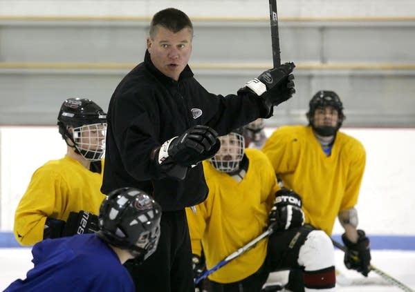 Coach Tom Ward