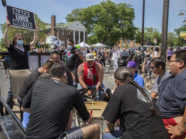 Peaceful marches and rallies in Minneapolis