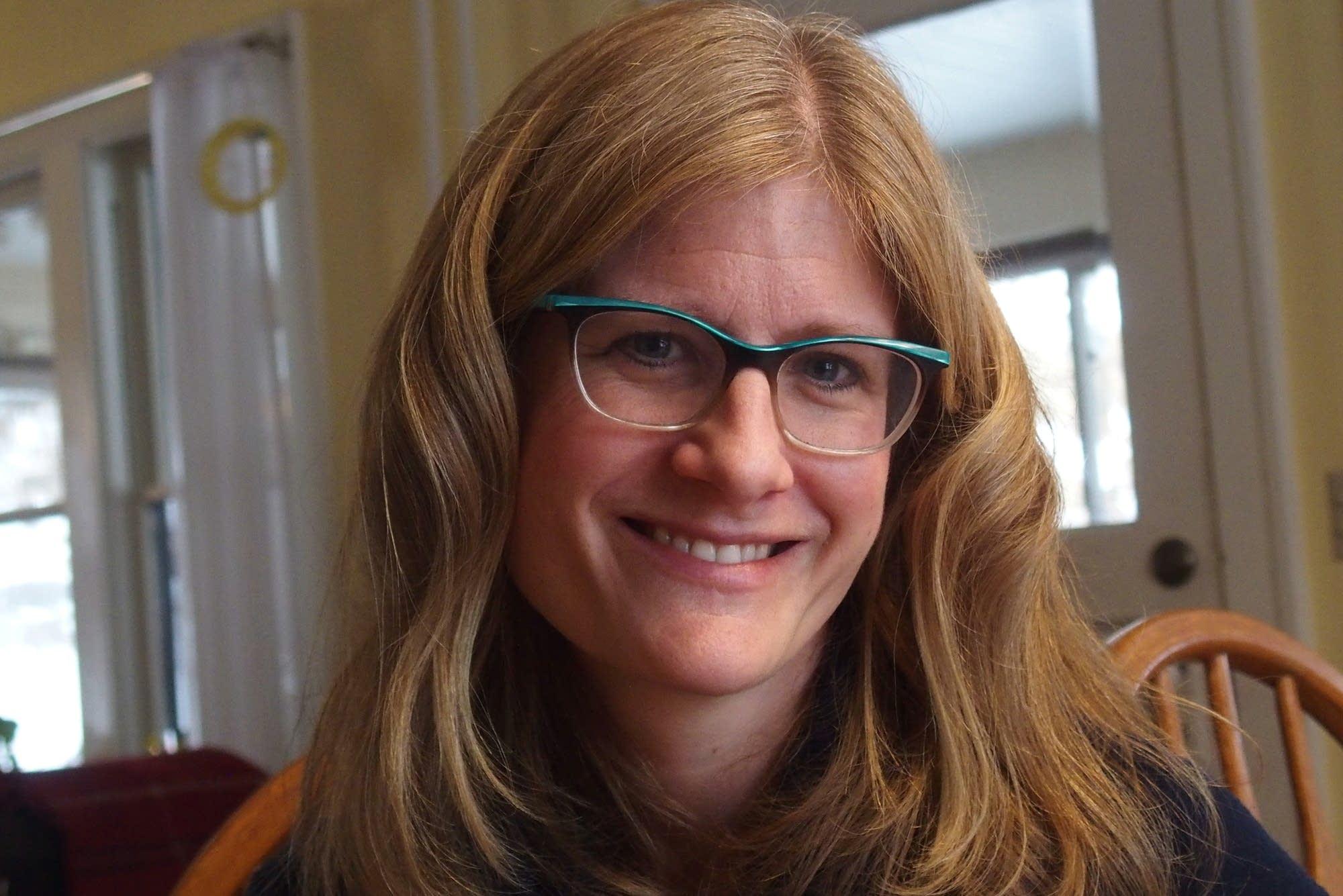 Author Kaethe Schwehn in her Northfield Minn. home