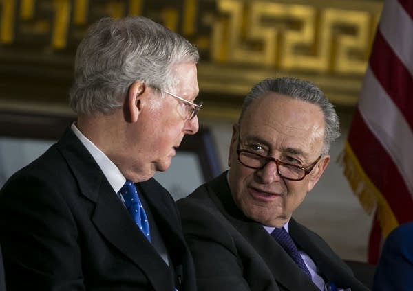Sens. Mitch McConnell and Chuck Schumer.