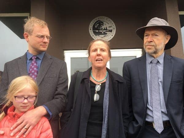 Surprise acquittal in Enbridge pipeline protesters' case