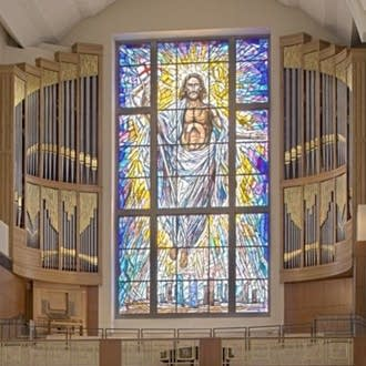2010 Pasi organ, Opus 19, at Co-Cathedral of the Sacred Heart, Houston, Texas