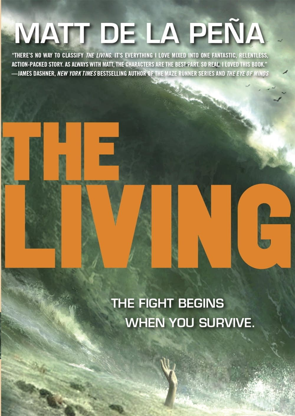 'The Living' by Matt de la Pena