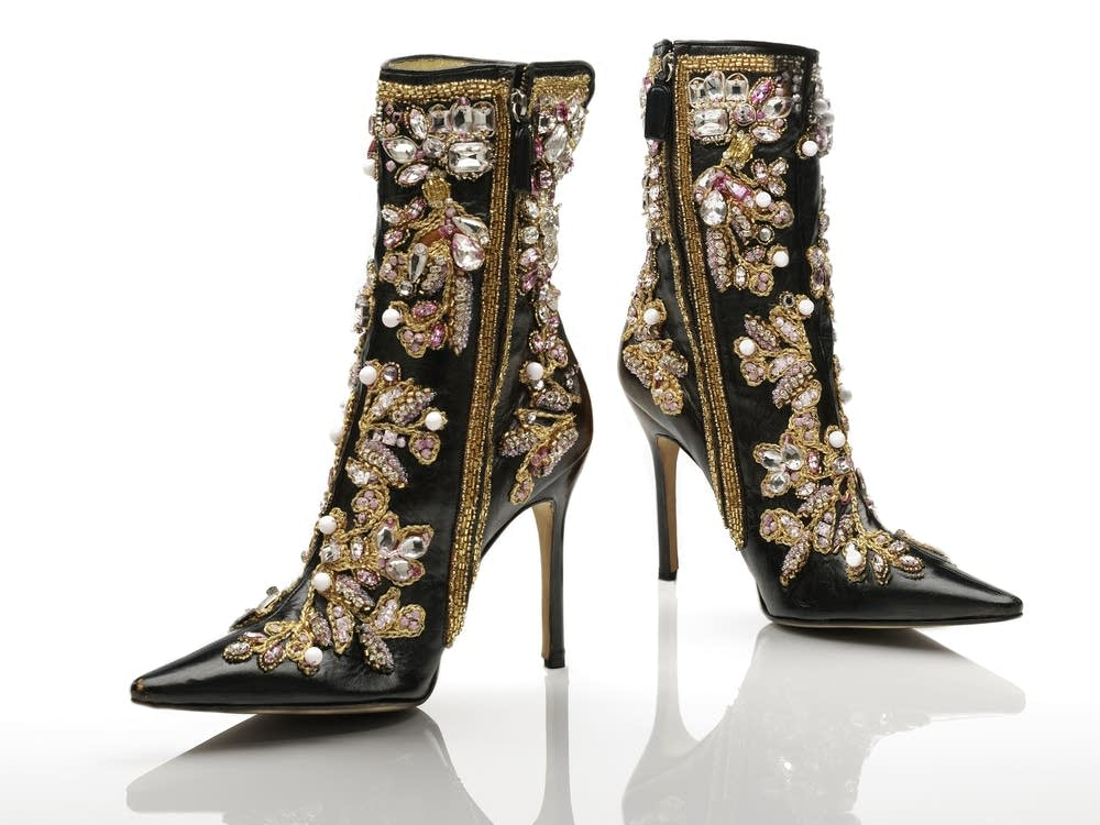 Dolce & Gabbana, leather ankle boots