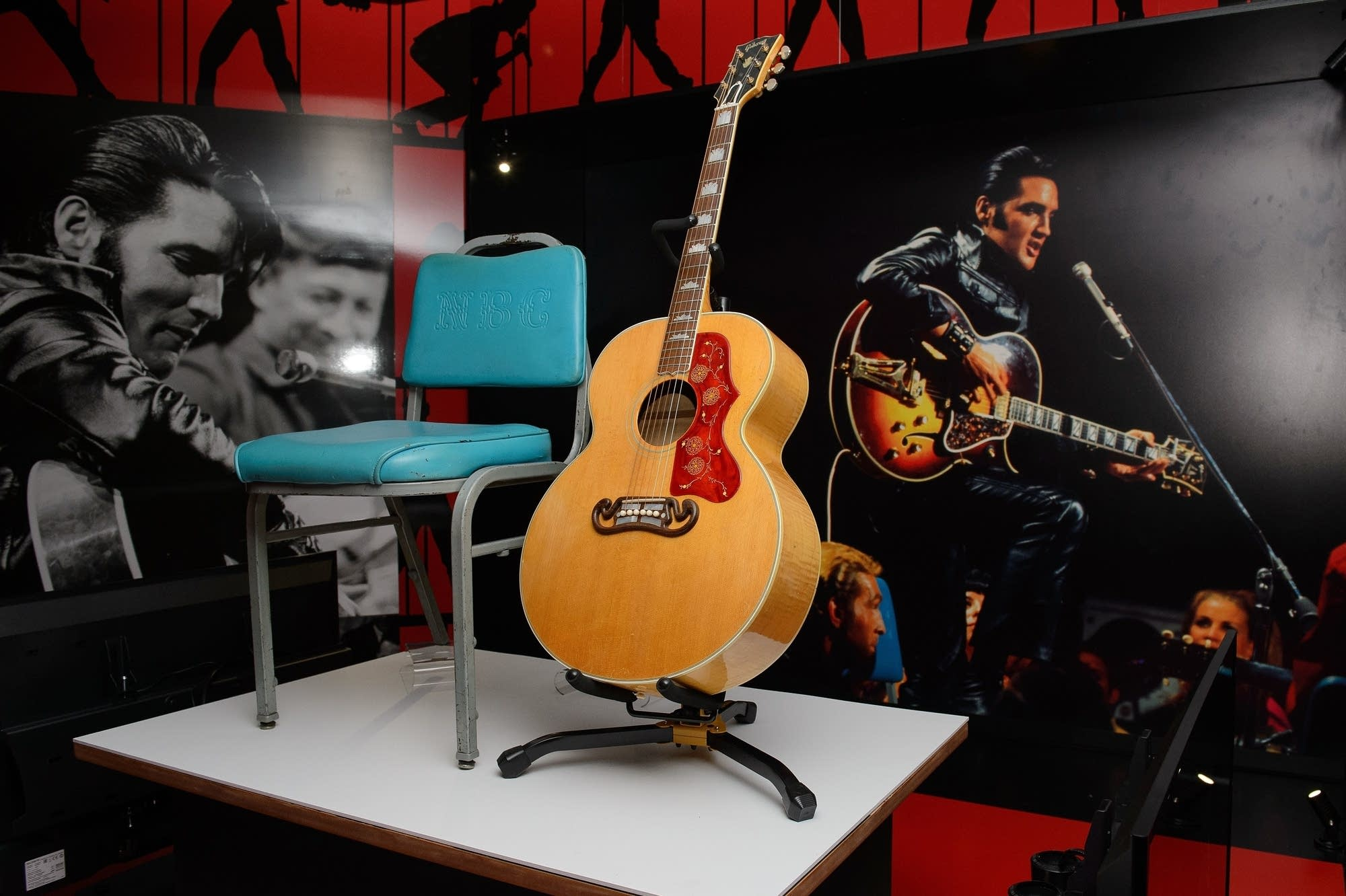 artifacts from Elvis Presley's '68 Comeback Special