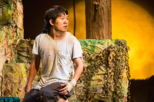 Eric Sharp as Mowgli