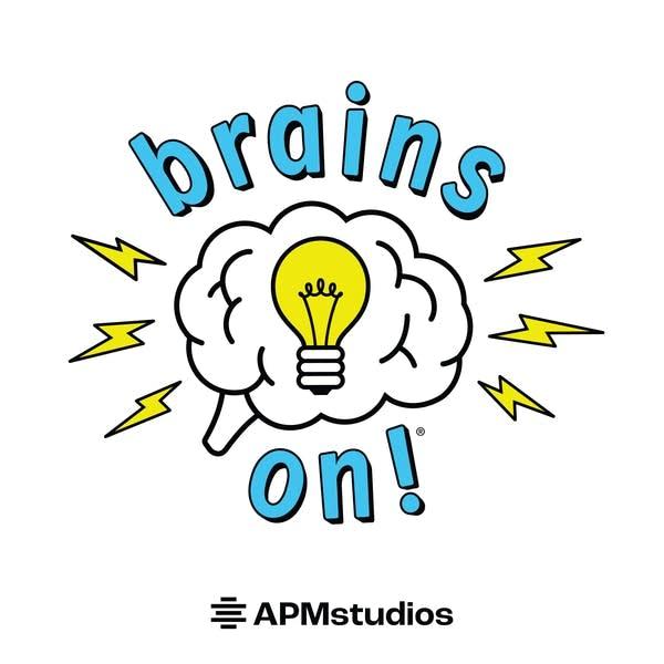 Brains On! APM Studios Podcast Art