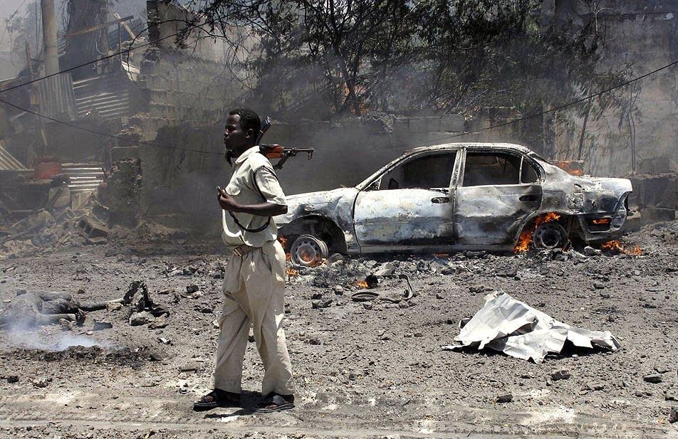 Mogadishu blast aftermath
