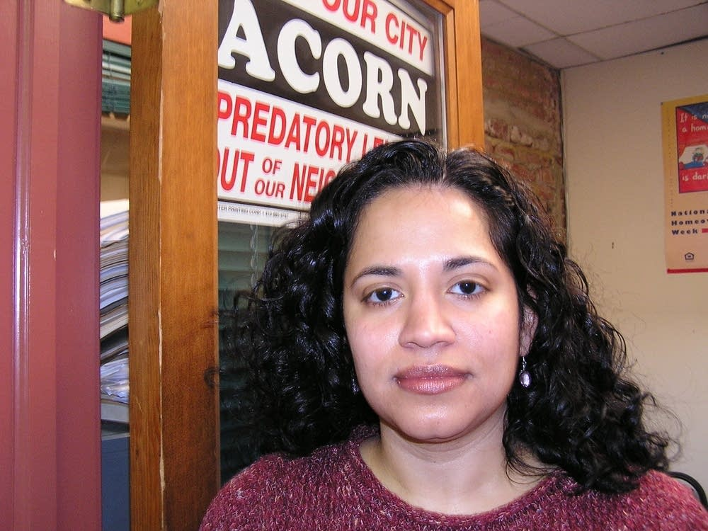 Brenda Muniz ACORN's Legislative Director.