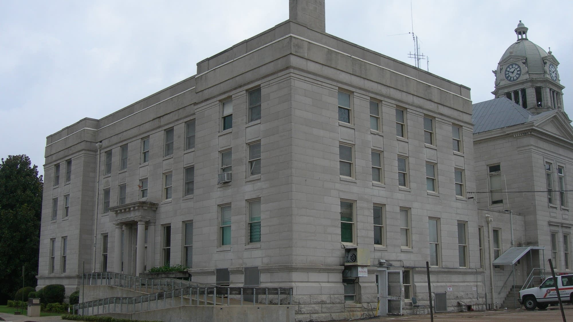 Leflore County Court House in Greenwood, Mississippi