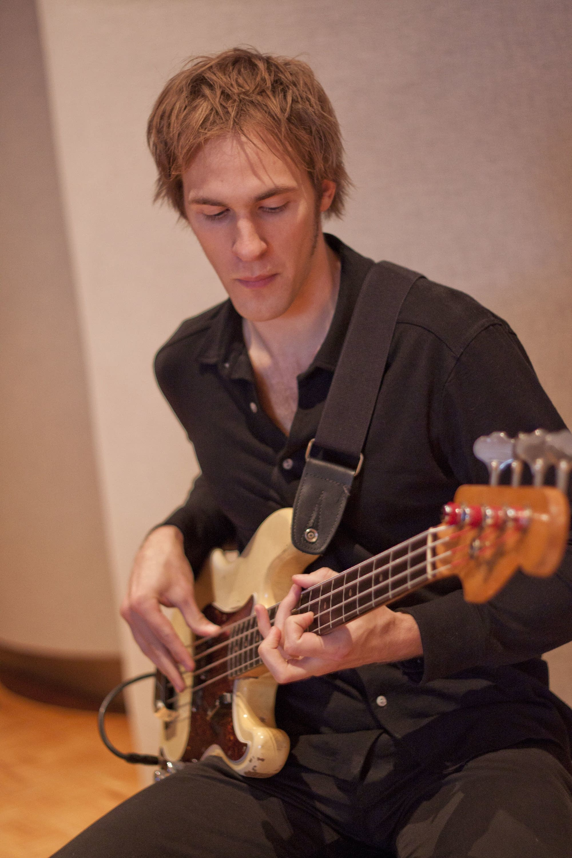 Bassist for Low Steve Garrington