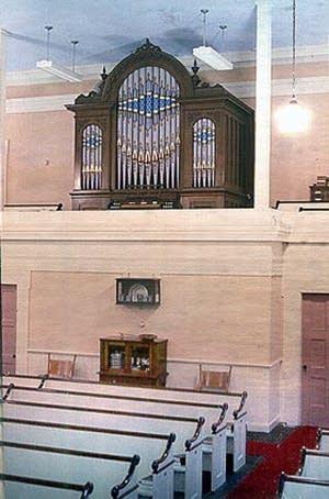 1865 Hook organ at First Congregational Church in Orwell, VT