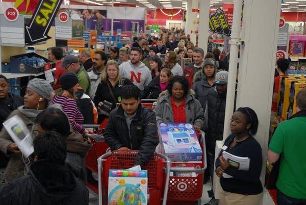 Thanksgiving at Target