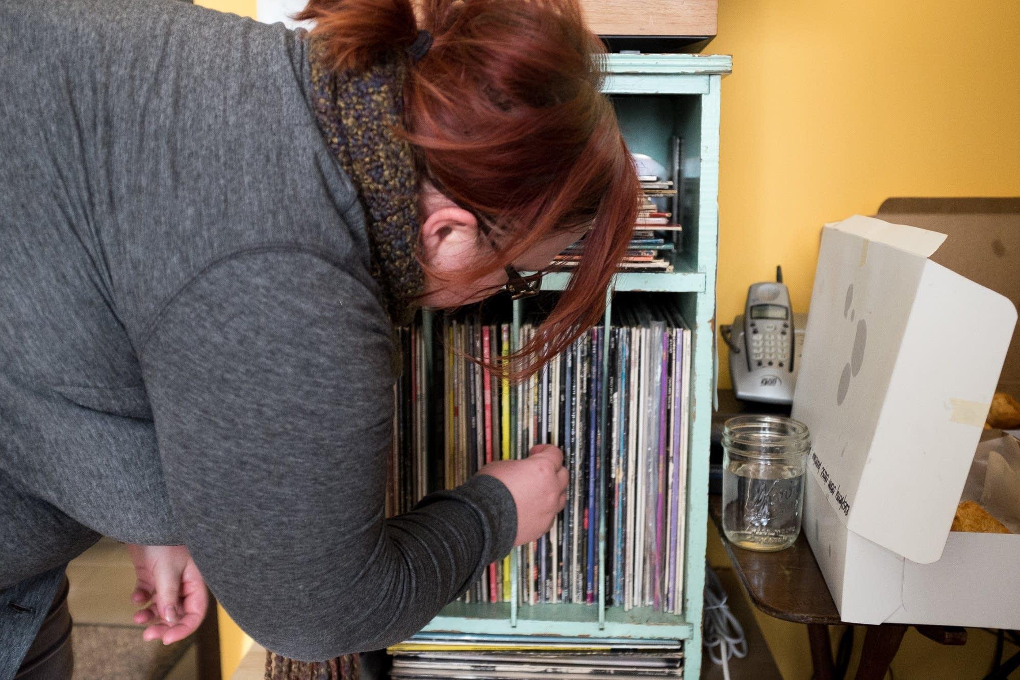 jill riley, vinyl, coffee break