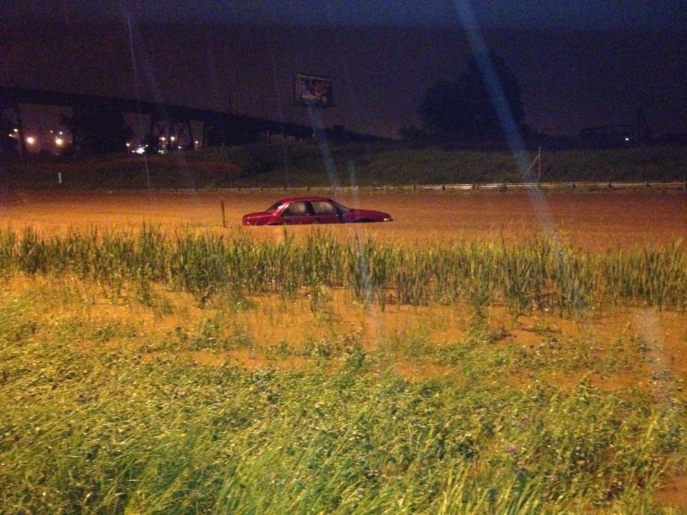 I-35 flooding